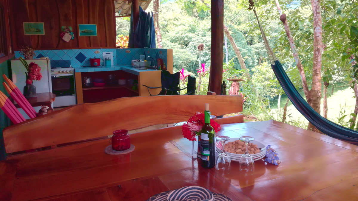Room with kitchen in Tambor Costa Rica