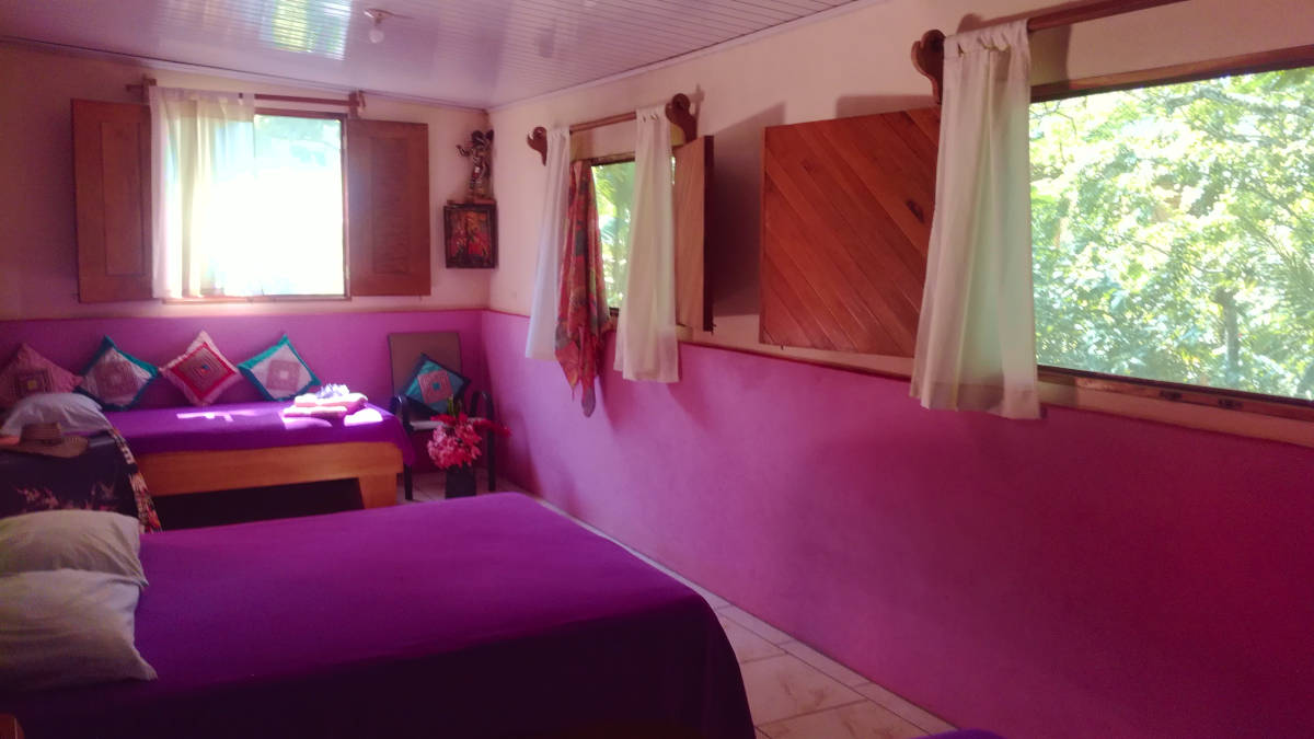 Family rooms in playa tambor costa rica